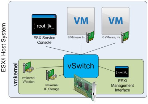 vSwitch Functional Overview
